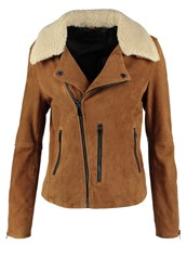 Oakwood Leather Jacket Tobacco Camel