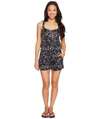 Lole Jamillia Romper Dark Charcoal Neunphar Women's Jumpsuit And Rompers One Piece Black