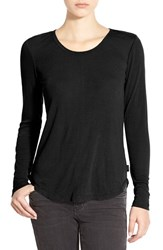 Junior Women's Rvca Long Sleeve Knit Top