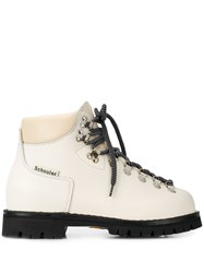 Proenza Schouler Hiking Boots White