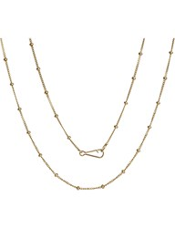 Annoushka Classic Saturn 18Ct Yellow Gold Long Chain