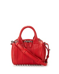 Alexander Wang Mini Rockie Dumbo Pebbled Duffel Bag