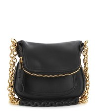 Tom Ford Jennifer Mini Leather Shoulder Bag Black