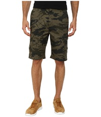 Volcom Fieldstone Cargo Short Army Men's Shorts Green
