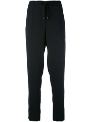 Kenzo Tailored Trousers Women Polyester 34 Black