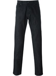 Armani Jeans Slim Fit Jeans Black
