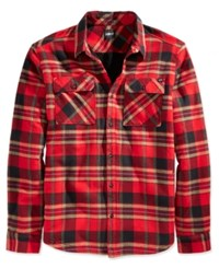 Fox Men's Glamper Flannel Shirt Red