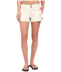 Mountain Khakis Sadie Chino Shorts Stone Women's Shorts White