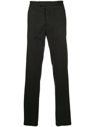 Kent And Curwen Tailored Trousers Cotton Grey