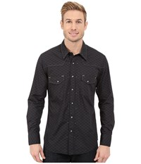 Rock And Roll Cowboy Long Sleeve Snap B2s5417 Black Men's Long Sleeve Button Up