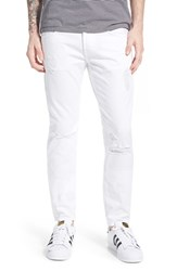 Men's 7 For All Mankind 'Paxtyn Foolproof' Skinny Fit Jeans Destroyed White