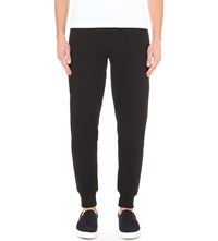 Barbour Initial Cotton Jersey Jogging Bottoms Black