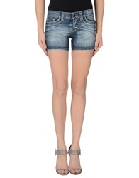 S.O.S By Orza Studio Denim Denim Shorts Women Blue