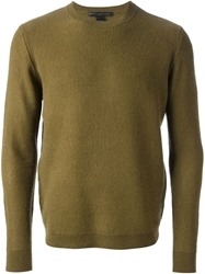 Marc By Marc Jacobs Ribbed Knit Jumper Green
