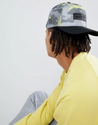 Mitchell And Ness 110 Baseball Cap In Fluro Camo Grey