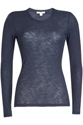 James Perse Long Sleeved Cotton Top