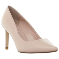 Dune Wide Fit Abbigail Stiletto Heeled Court Shoes Pink