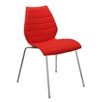 Kartell Maui Soft Chair Red