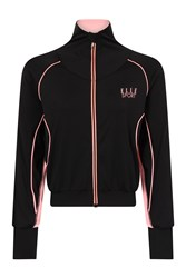 Elle Sport Batwing Woven Jacket W. Tape Rib Multi Coloured Multi Coloured