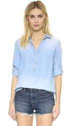 Bella Dahl Classic Pullover Shirt Bay Wash