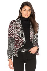 Baandsh Ilda Jacket Black And White