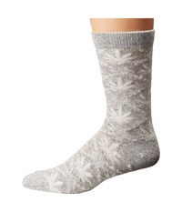 Huf Angora Nordic Sock Grey Heather Crew Cut Socks Shoes Gray