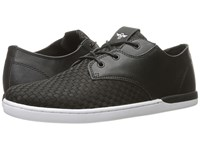 Creative Recreation Vito Lo Black Woven Lace Up Casual Shoes
