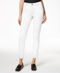 G.H. Bass And Co. Skinny Ankle Jeans White
