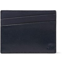 Want Les Essentiels Branson Leather Cardholder Navy