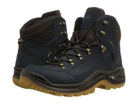 Lowa Renegade Gtx R Mid Navy Honey Hiking Boots