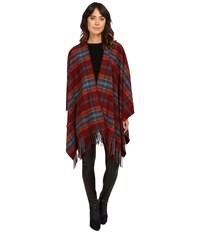 Pendleton Cozy Shawl Autumn Plaid Women's Clothing Brown