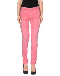 Closed Trousers Casual Trousers Women Fuchsia