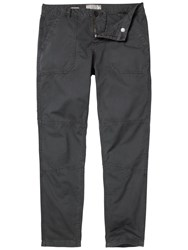 Fat Face Seamed Worker Trousers Charcoal