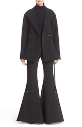 Ellery Women's 'Battleship' Lace Up Panel Twill Jacket