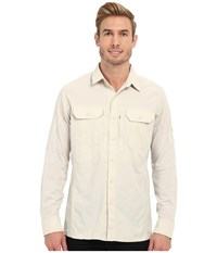 Kuhl Airspeed Long Sleeve Top Natural Men's Long Sleeve Button Up Beige
