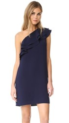 Shoshanna Bond Dress Navy