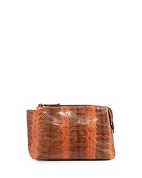 Beirn Large Watersnake Cosmetics Pouch Orange