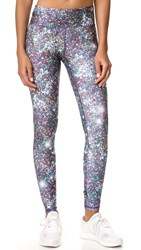 Terez Night Sparkle Tall Band Leggings Multi