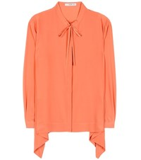 Etro Silk Shirt Orange