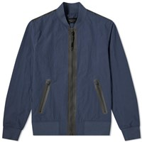 Rag And Bone Tech Bomber Jacket Blue