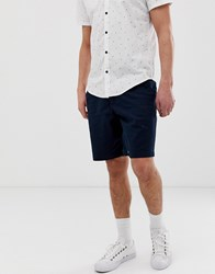 Hollister Chino Shorts In Navy