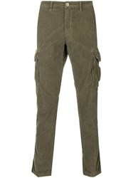 Jeckerson Waffled Trousers Green