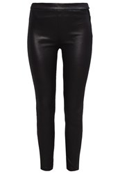 7 For All Mankind Trousers Black