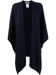 The Row Loose Fit Cardi Coat Blue