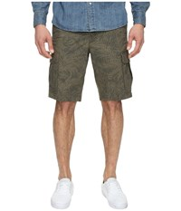 Dockers Standard Washed Cargo Shorts Bishop A Good Olive Grove Men's Shorts Green