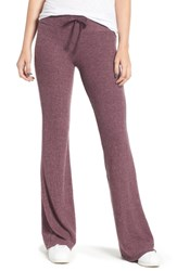 Wildfox Couture Tennis Club Fleece Pants Crushed Berry