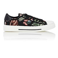 Valentino Men's Roman Safari Print Sneakers Black Blue Black Blue