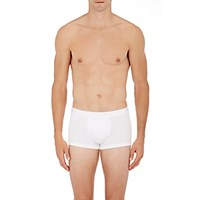 Zimmerli Men's Sea Island Boxer Shorts White