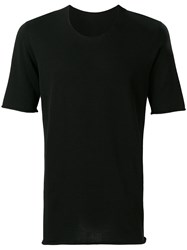 Label Under Construction Short Sleeve T Shirt Black