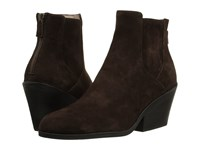 Eileen Fisher Peer Chocolate Suede Women's Boots Brown